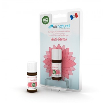 Synergie d'Huiles Essentielles Anti-stress