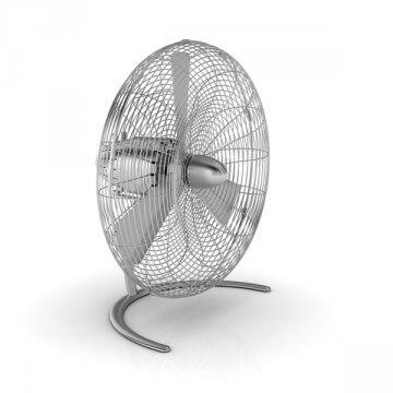 Ventilateur oscillant CHARLY FLOOR