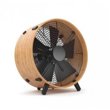 Ventilateur design OTTO en bambou